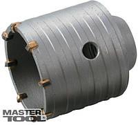 MasterTool Сверло корончатое для бетона 65 мм 8 зубцов Granite 2-08-066