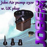 Насос для надувных плюшек 230V Air pump w. UK plug