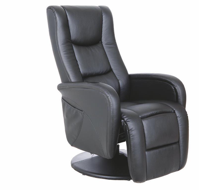 Кресло PULSAR черный Halmar