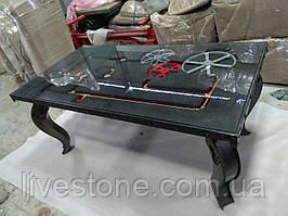Стол железный с механизмом