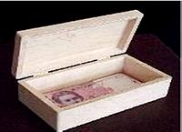 Шкатулка Купюрница 17,5х9,5х6 см Фанера заготовка для декора