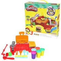 Пластилин Play-Doh для изготовления гамбургеров