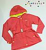 Модная куртка-парка на девочку  (рост 98,116 см)