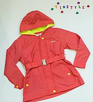 Модная куртка-парка на девочку  (рост 98,116 см), фото 1