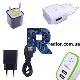 Зарядні пристрої USB для мобільної техніки