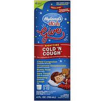 Hyland's, Ночное средство от простуды и кашля для детей, 2-12 лет, 4 жидкие унции (118 мл)