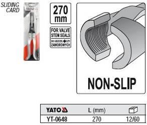 Щипцы для замены маслосъемных колпачков Yato YT-0648, фото 2