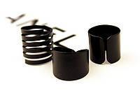Женское кольцо модное ретро винтаж набор колец подарочный стильные черные матовые на 8 марта