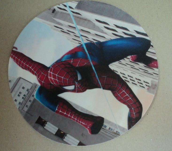 Вафельные картинки Спайдермен d20 см.5вид.Галетте -03253
