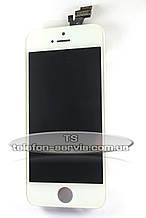 Дисплейний модуль Apple iPhone 5, білий