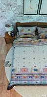 Постельное белье Leleka Textile Евро, ранфорс, 2140_Р1