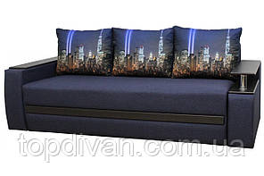 """Диван євро-книжка """"Гаспар"""" тканина Нью-Йорк. Габарити: 2,35 х 1,05 Спальне місце: 1,90 х 1,60"""