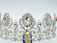231 Высокие короны, тиары и диадемы. Свадебные украшения и бижутерия оптом.