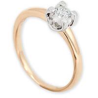 Золотое кольцо с бриллиантом Brooke 17 000012426