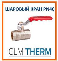 Кран шаровой SD Plus PN 40 1/2 ВВ стальной рычаг