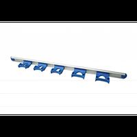 Настенная система держателей (900 мм) с 5-ю зажимами.FBK (Дания)