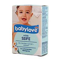 Детское мыло Babylove с экстрактом ромашки 100 г.