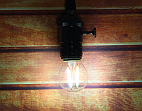 Прозрачная лампочка Filament 4Вт Е27 G45 4000K
