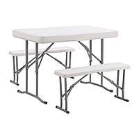 Набор мебели для пикника Time Eco ТЕ-1812 (стол и 2 лавки)