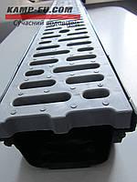 Комплект поверхностного водоотвода, водоотводный лоток и решетка из пластика Камп не путать с spark gidrolica