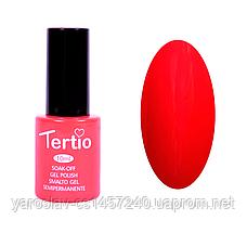 Гель лак Tertio №2, 10 мл красный