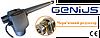 FAAC GENIUS G-BAT 300створка до 3 м