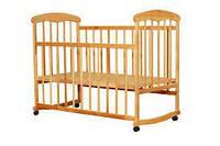Детская кроватка Наталка Ольха светлая ЭВ-0051