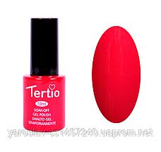Гель лак Tertio №3, 10 мл красно-розовый