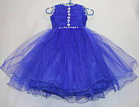 Платье бальное инкрустированное на девочку 4-5 лет, купить оптом со склада на 7км Одесса