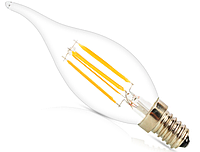 Светодиодная лампа Filament 4Вт C35T E14 4500K
