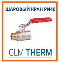 Кран шаровой SD Plus PN 40 1/2 ВН стальной рычаг