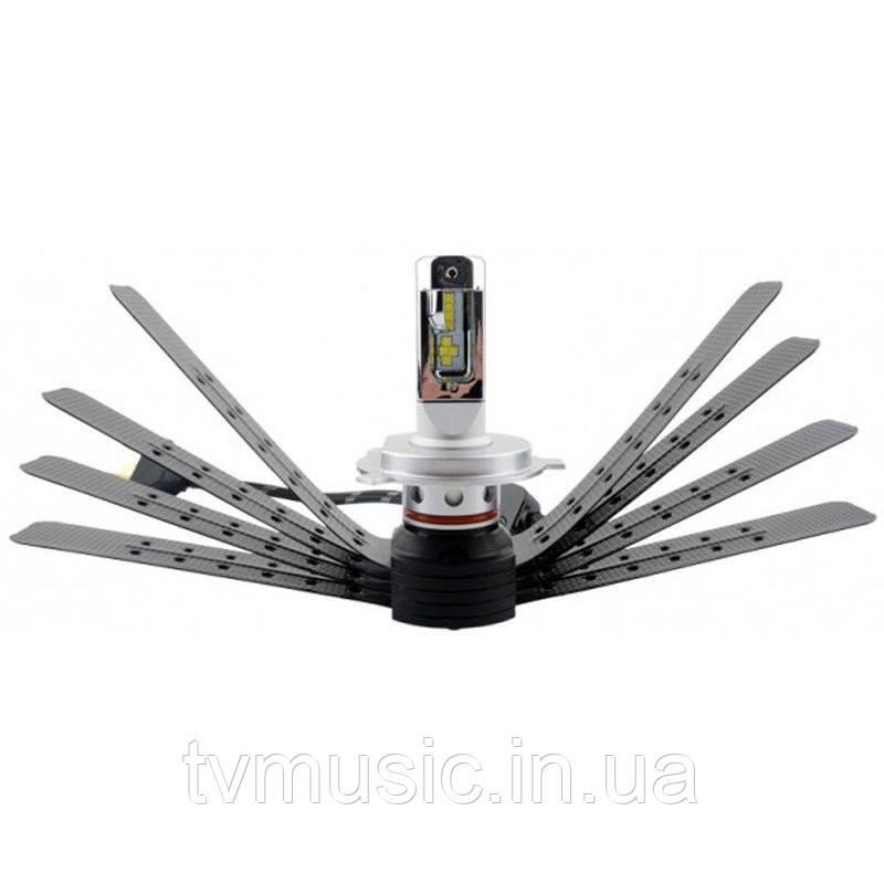 LED лампы RS G9 H4 6500K 12-24V (2 шт.)