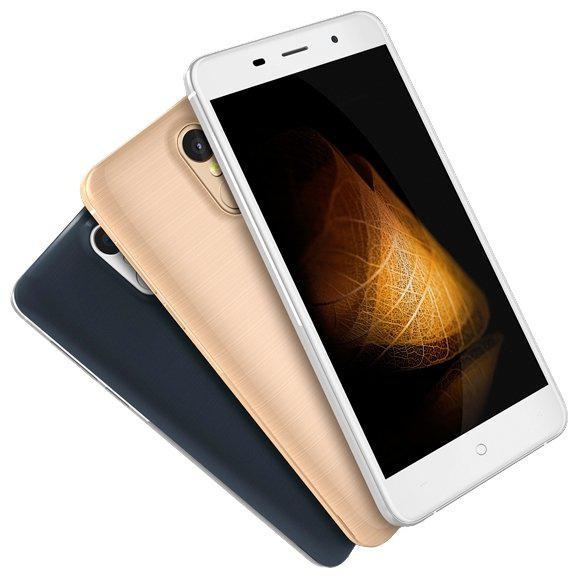"Смартфон Leagoo M5 Plus, 2/16Gb, 13/5Мп, 2sim, 4 ядра, экран 5.5"" IPS, 2500mAh, GPS, 4G"