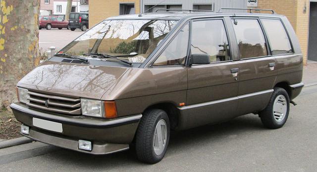 RENAULT ESPACE I (J11, S11) (1984-1991)