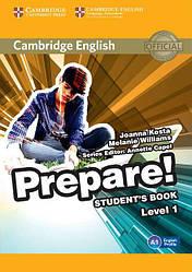 Cambridge English Prepare! 1 Student's Book (Учебник)