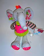 Мягкая игрушка-обнимашка Слоник