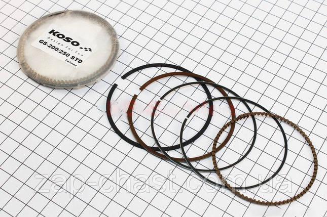 Кольца поршневые для квадроцикла Atv-250 69,25мм, фото 2