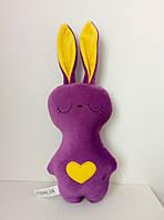 Мягкая игрушка Strekoza Заяц Засыпаяц 20см фиолетовый, фото 1