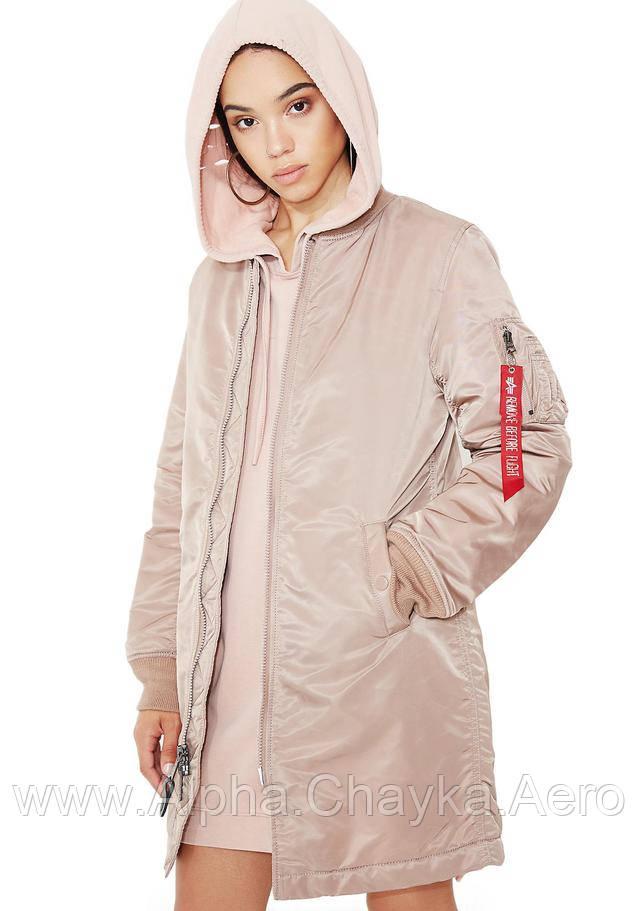Женское пальто MA-1 Long W
