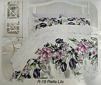 Постельное белье First Choice Евро размера Ranforce Riella Lila