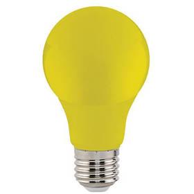 Светодиодная лампа желтая SL-03Y 3W E27 A60 220V (YELLOW) Код.59215