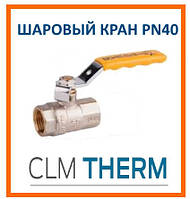 Кран газовый SD Plus PN 40 1 ВВ стальной рычаг