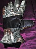 Зимние флисовые перчатки для охоты и рыбалки Fisherman, фото 2