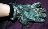 Зимние флисовые перчатки для охоты и рыбалки Fisherman, фото 5