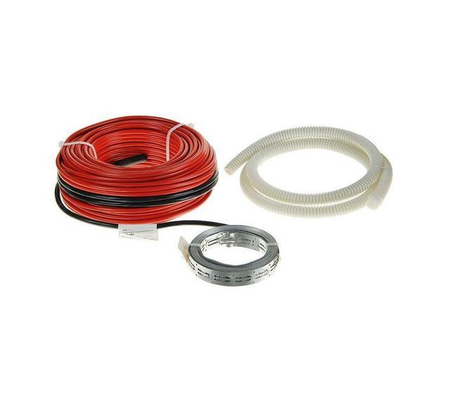 Нагревательный кабель в стяжку