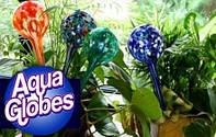 2x Стекляные шары для автополива растений Аква Глоб, Aqua Globes