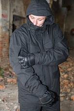 """Куртка-китель """"Тренд М-65"""",чорна 100% х/б, фото 3"""