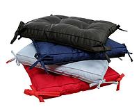 Подушка на стул COLOR коричневая 40х40 , фото 1