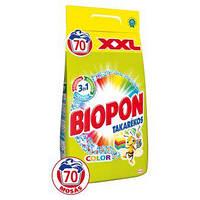 Стиральный порошок Biopon для цветных тканей, 4,9 кг