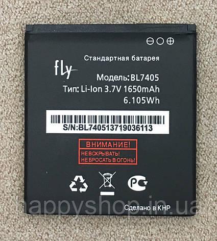 Оригінальна батарея Fly iQ449 Pronto (BL7405), фото 2